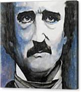 Never More - Poe Canvas Print