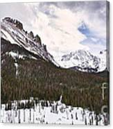 Never Summer Wilderness Area Panorama Canvas Print