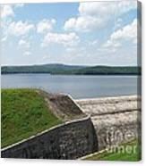 Neversink Reservoir Dam Canvas Print