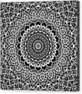 New Abstract Plaid Kaleidoscope Canvas Print
