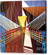 New Age Performing Arts Center Canvas Print