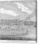 New Bedford, 1839 Canvas Print