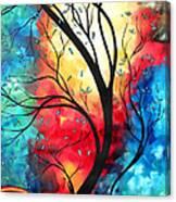 New Beginnings Original Art By Madart Canvas Print