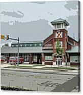 New Bern Fire Department Canvas Print
