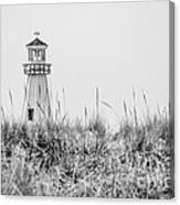 New Buffalo Lighthouse In Southwestern Michigan Canvas Print
