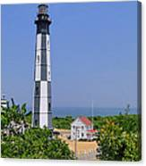 New Cape Henry Lighthouse Vertical Canvas Print