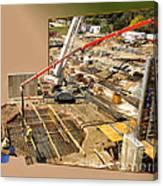 New Commercial Construction Site 02 Canvas Print