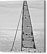 New Dawn - Sailing Into Calm Waters Canvas Print