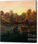 New Day In Autumn Sold Canvas Print