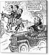 New Deal: Cartoon, 1943 Canvas Print
