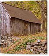 New England Barn Canvas Print