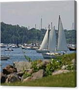 New England Seascape Canvas Print