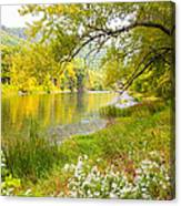 New Englands Early Autumn Canvas Print