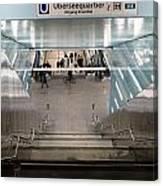New Hafencity Station In Hamburg Canvas Print