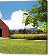 New Hampshire Barnyard Canvas Print