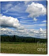 New Hampshire Blue Sky  Canvas Print