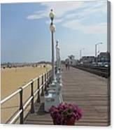 New Jersey Boardwalk Canvas Print