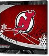 New Jersey Devils Christmas Canvas Print