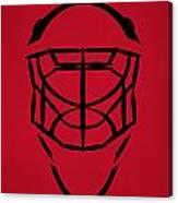 New Jersey Devils Goalie Mask Canvas Print