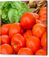 New Jersey Farm Market Goodness Canvas Print