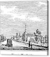 New Jersey Woodbridge Canvas Print