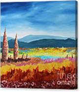 New Land Canvas Print