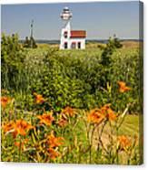 New London Range Rear Lighthouse Canvas Print