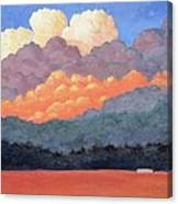 New Mexico Cloudscape  Canvas Print