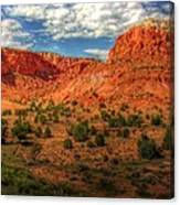 New Mexico Mountains 2 Canvas Print