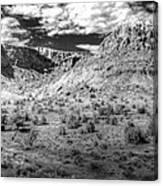 New Mexico Mountains Canvas Print