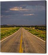 New Mexico Road 10 Canvas Print