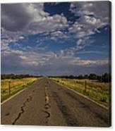 New Mexico Road 7 Canvas Print