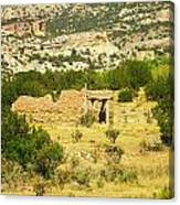 New Mexico Ruins Canvas Print
