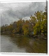 New Milford By Water Side Canvas Print