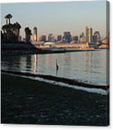 New Moon- Low Tide Canvas Print