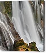 New Navajo Falls Canvas Print