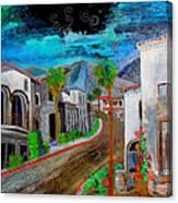 New Old Town La Quinta Canvas Print