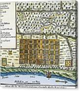 New Orleans, 1718-20 Canvas Print