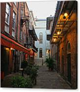 New Orleans Ally Canvas Print