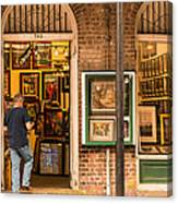 New Orleans Art Shop On Royal Canvas Print
