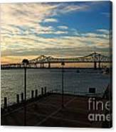 New Orleans Bridge Canvas Print