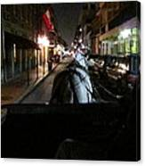 New Orleans - City At Night - 121210 Canvas Print