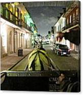 New Orleans - City At Night - 121222 Canvas Print