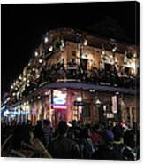 New Orleans - City At Night - 12123 Canvas Print