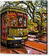 New Orleans Classique Line Art Canvas Print