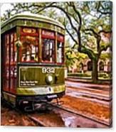 New Orleans Classique Oil Canvas Print