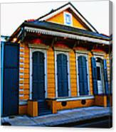 New Orleans Creole Cottage Canvas Print