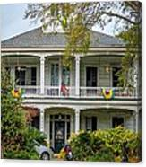 New Orleans Frat House Canvas Print