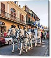 New Orleans Funeral Canvas Print