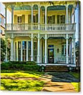 New Orleans Home - Paint Canvas Print